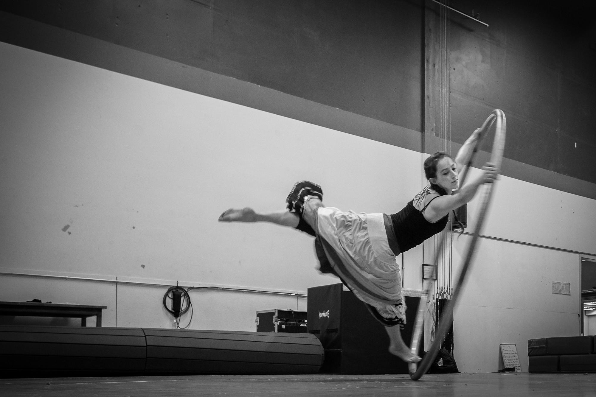 Emma Curtiss, Aerial Acrobat